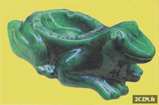 cendrier grenouille l 39 h ritier guyot dijon ann e 50 150. Black Bedroom Furniture Sets. Home Design Ideas
