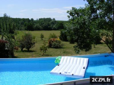 Gite Chambres d'hotes 2 12 personnes 3 épis piscine hors sol