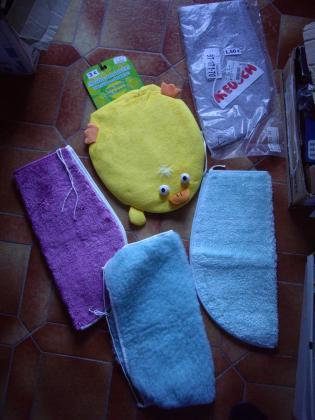 Housses d'abattant WC et Parure de Bain-Neuf