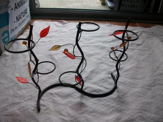 Supports décoratifs pour bougies ou autre