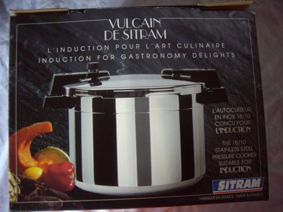 Set de 4 pièces Sitram : Autocuiseur & 3 casseroles - neuf
