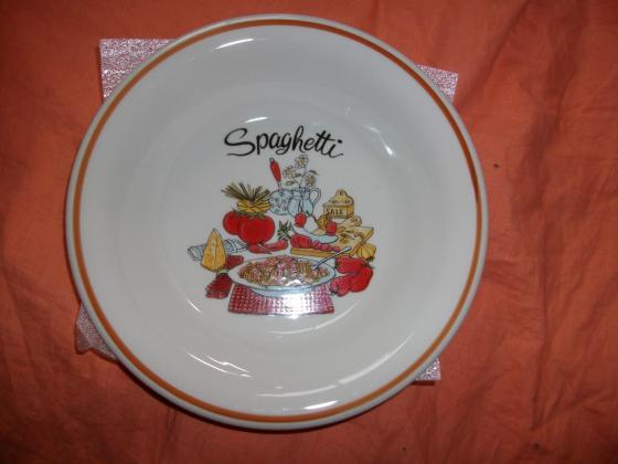 Service de Table spécial Spaghetti - neuf