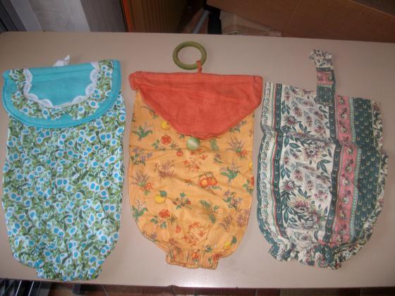 Sacs en tissu de rangement à sachets (ou autres)
