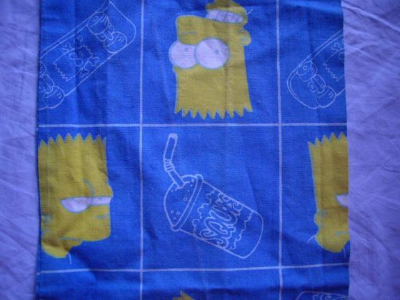 Sacs à pain motif Les Simpson + Cheval