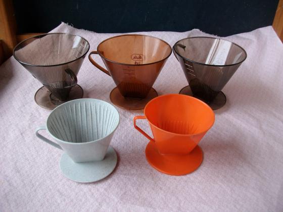 Porte-Filtres (pour café ou tisane/thé) n°4 et n°6