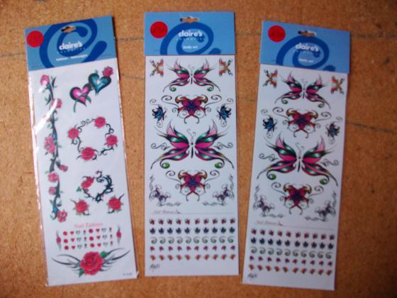 Planches de Nails Stickers-neufs