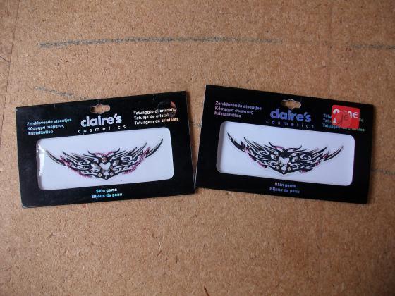 Planches de Bijoux de Peau Autocollants-neufs