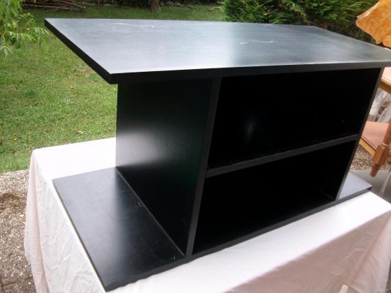 Meuble TV coloris Noir