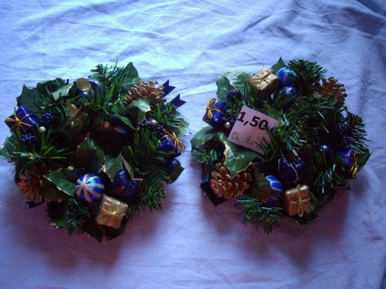 diverses Couronnes de Noël