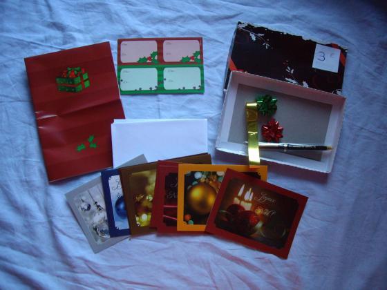 divers Articles Papeterie de Noël et de Fêtes