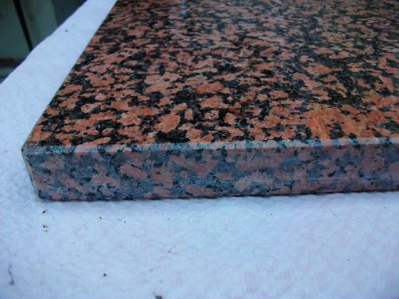 Dalles en marbre (origine dessous de poêle)