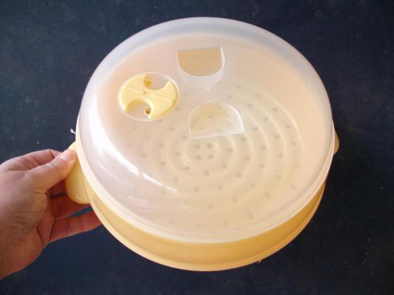 Cuit-vapeur en plastique - Neuf - à 0,50 €