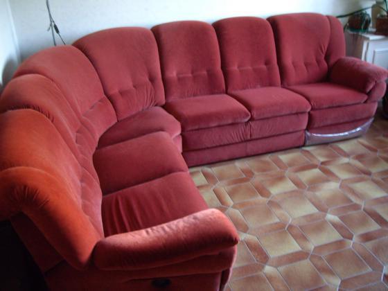 Canapé complet d'angle à 2 places Relax