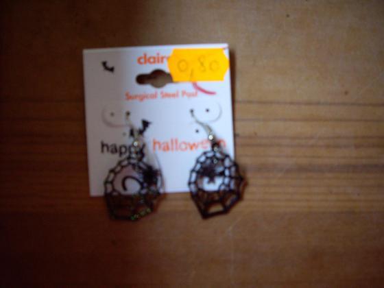Boucles d'Oreilles Halloween