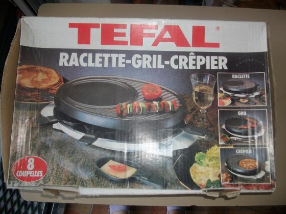 Appareil Raclette-Grill-Crêpier de Tefal