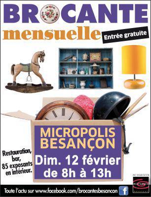 Brocante mensuelle à Micropolis - Besançon