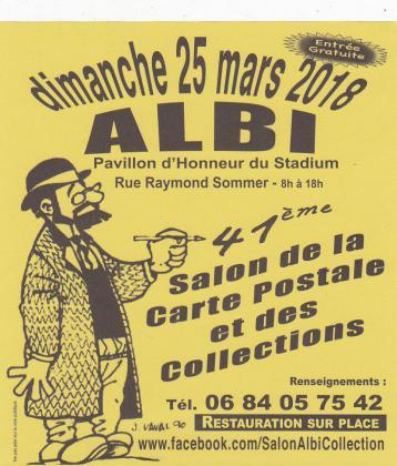 41eme Salon des Collectionneurs - Albi
