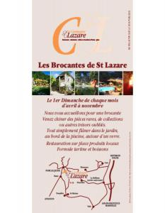 LES BROCANTES DE ST LAZARE à Forcalquier