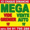 Mega Vide Greniers et Vente Autos
