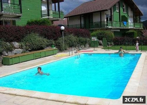 gerardmer loue appartement dans chalet avec piscine