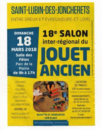 22° Salon Inter-Régional du Jouet Ancien