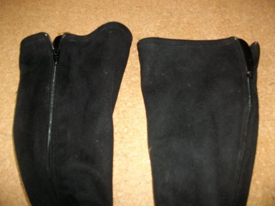 Bottes Noir en daim pt 40