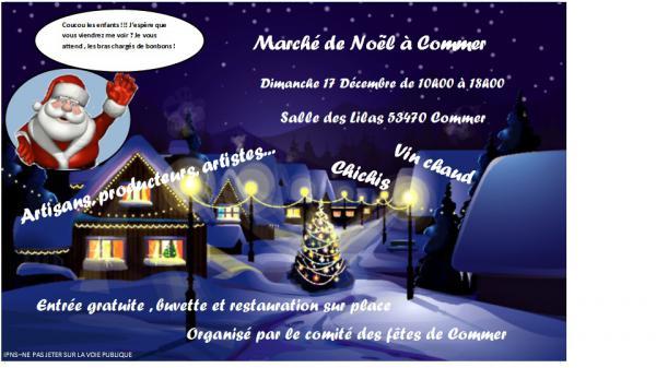 Marché de Noël de Commer