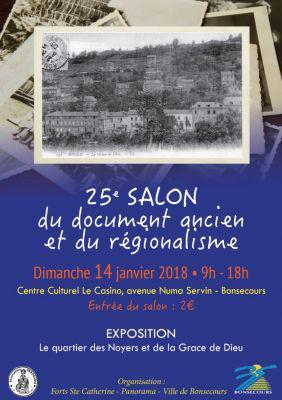 25ème Salon du Document Ancien de BONSECOURS