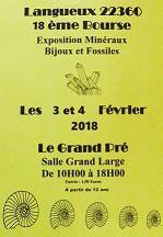 18ème Bourse exposition de minéraux , bijoux , gemmes et fossiles