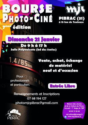 7ème Bourse Photo-ciné de PIBRAC