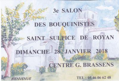 3ème Salon des Bouquinistes de SAINT SULPICE DE ROYAN