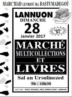 Marché aux Livres et aux Collections de LANNION