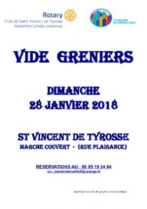 Vide Grenier du Rotary de SAINT VINCENT DE TYROSSE