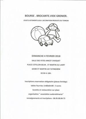 Brocante Vide-greniers de SAINT MARTIN AU LAERT