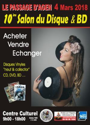 Salon du Disque et BD - LE PASSAGE