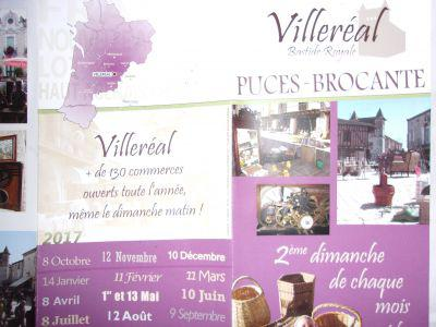 Brocante et puces à Villeréal