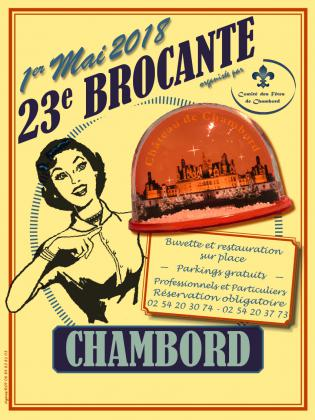 Brocante de Chambord