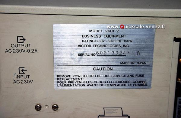 Ordinateur Victor VPC II