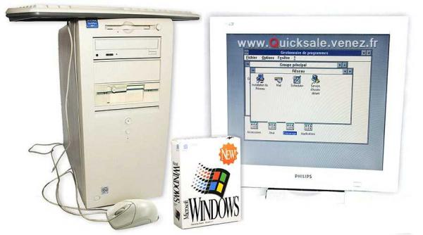 Tour, MS-Dos, Windows 3.11, Windows 95, Windows 98, Windows 2000, etc..