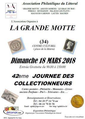 42eme Journée des Collectionneurs à LA GRANDE MOTTE