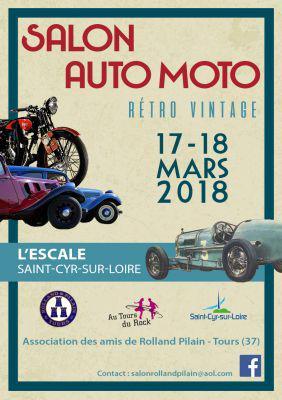 Salon Auto Moto Rétro et Vintage de SAINT CYR SUR LOIRE