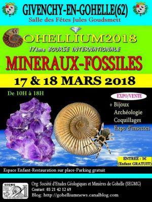 17ème Bourse Minéraux-fossiles de GIVENCHY EN GOHELLE