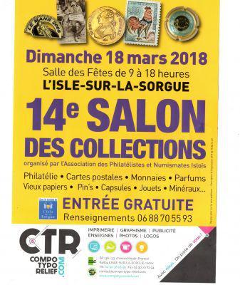 Salon des Collection l'Isle sur la Sorgue
