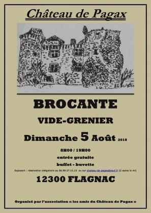 Brocante Vide-greniers de Flagnac