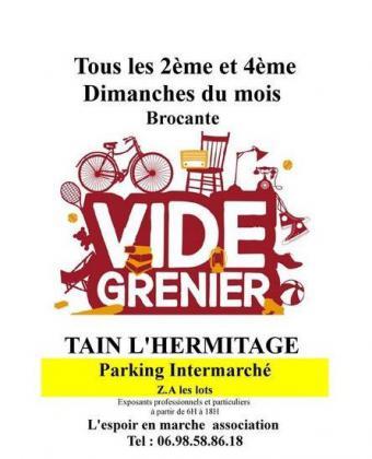 Vide-greniers de TAIN L'HERMITAGE