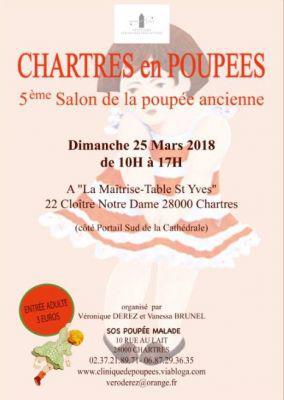 5ème Salon de la Poupée Ancienne de CHARTRES