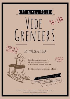Vide-greniers de LA PLANCHE