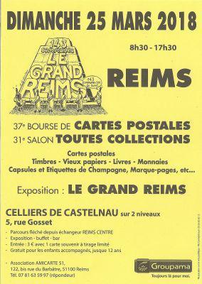 Bourse de Cartes Postales - REIMS
