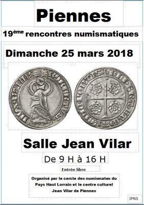 Rencontres Numismatiques - PIENNES