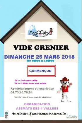 Vide-greniers - GURMENCON
